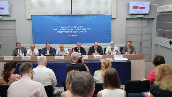 Круглый стол в рамках пресс-тура на тему Взаимодействие Беларуси и России в сфере энергетики