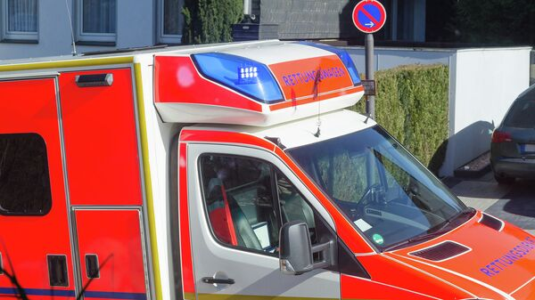 Машина скорой помощи в Германии