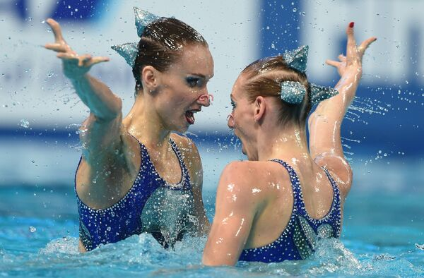 Чемпионат мира FINA 2015. Синхронное плав ание. Дуэты. Произвольная программа. Финал