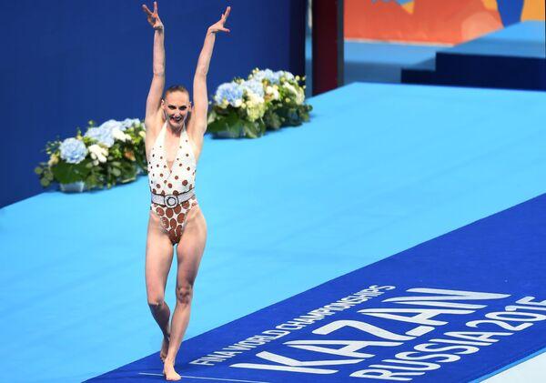 Чемпионат мира FINA 2015. Синхронное плавание. Соло. Техническая программа. Финал