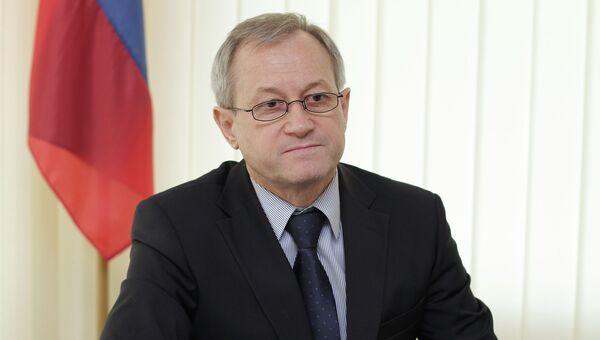Министр топлива и энергетики Крыма Сергей Егоров