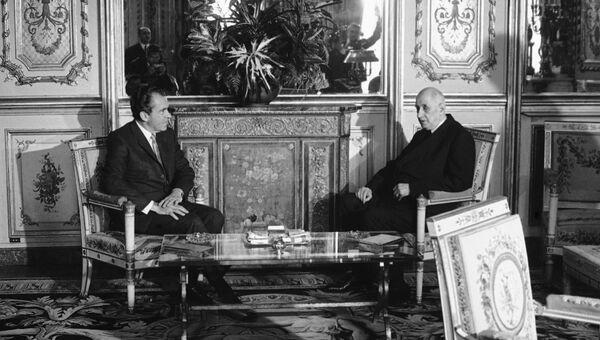 Встреча Ричарда Никсона и Шарля де Голля, 1969 год
