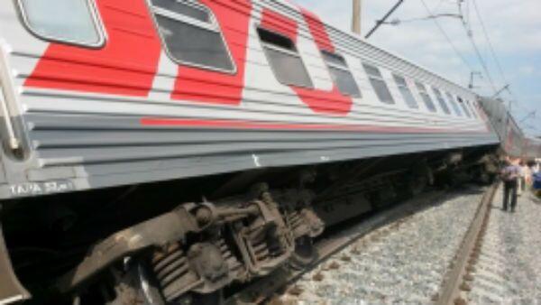 Сход поезда с рельсов в Мордовии, 8 августа 2015