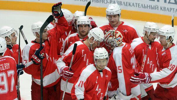 Игроки Спартака на турнире имени Аркадия Чернышева