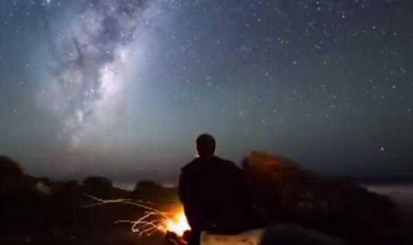 Ночь над Новой Зеландией