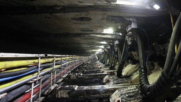 Новая лава на шахте Полысаевская