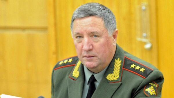 Бывший главнокомандующий Сухопутных войск России Владимир Чиркин. Архивное фото