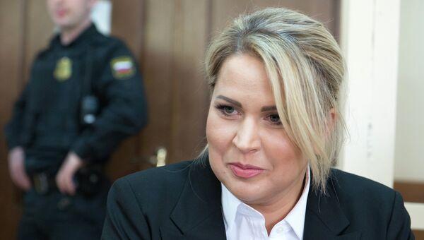 Бывшая глава департамента имущественных отношений министерства обороны России Евгения Васильева, Архивное фото