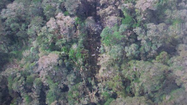 Обломки пропавшего самолета авиакомпании Тригана Эйр в Индонезии