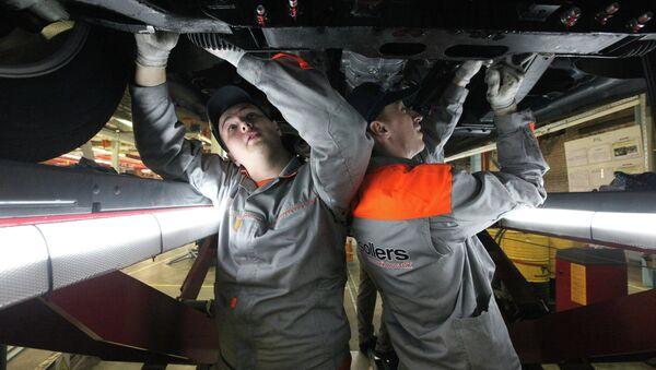 Серийное производство автомобилей компанией Sollers на Дальнем Востоке. Архивное фото