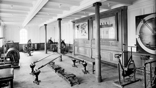 Гимнастический зал Титаника
