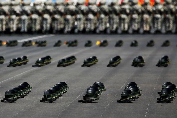 Репетиция военного парада в Пекине
