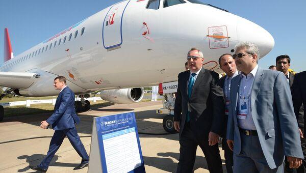 Открытие Международного авиационно-космического салона МАКС-2015
