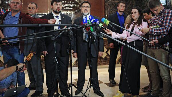 Заседание контактной группы по Украине в Минске. Архивное фото