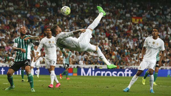 Матч Реал Мадрид - Бетис чемпионата Испании