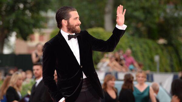 Американский актер Джейк Джилленхол на открытии 72-го Венецианского международного кинофестиваля