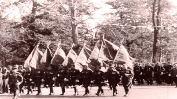 Парад в Берлине, преданный забвению. Съемки 1945 года