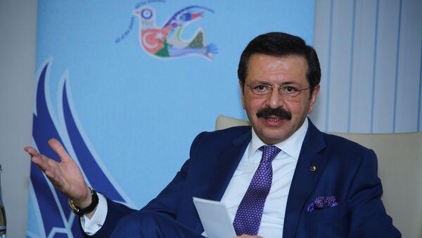 Глава Союза бирж и торговых палат Турции Рыфат Хисарджыклыоглу