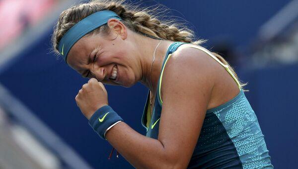 Белорусская теннисистка Виктория Азаренко сломила сопротивление немки Ангелики Кербер на US Open