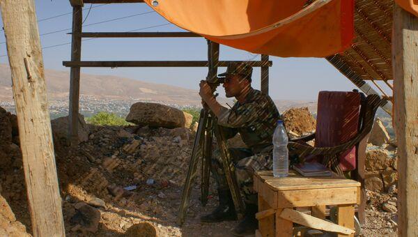 Сирийский военный. Архивное фото