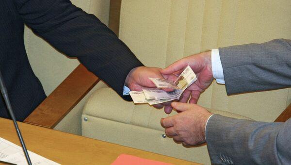 Во время пленарного заседания Госдумы РФ, архивное фото