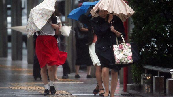 Тайфун в Японии. Архивное фото
