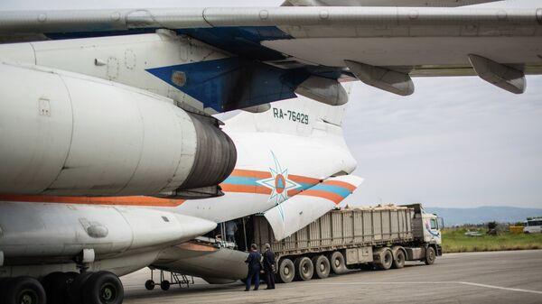 Самолет МЧС России. Архивное фото