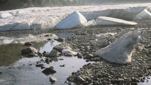 Колыма, Магаданская область. Территория вечной мерзлоты