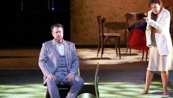 Ирина Лунгу в опере Верди Травиата на сцене Венской государственной оперы