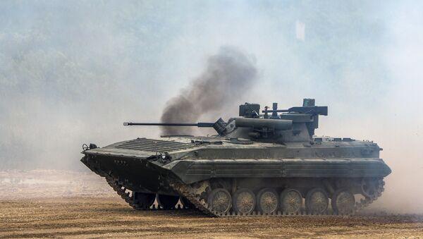 Боевая машина пехоты БМП-2. Архивное фото