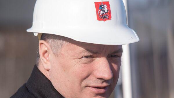 Заместитель мэра Москвы в правительстве Москвы по вопросам градостроительной политики и строительства Марат Хуснуллин. Архивное фото