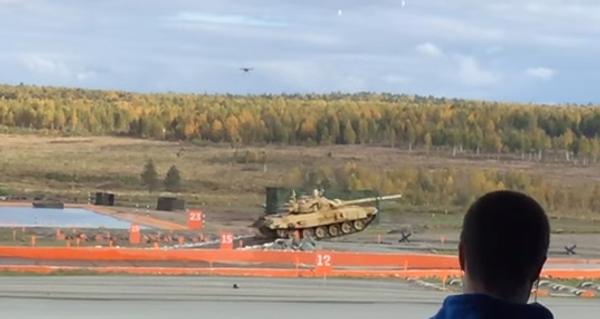 Мощь Т-90