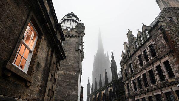 Города мира. Эдинбург. Шотландия. Архивное фото