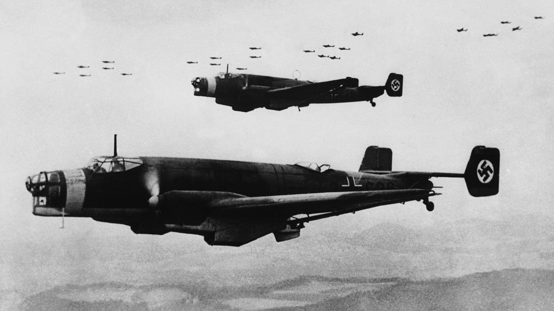 Немецкие бомбардировщики - РИА Новости, 1920, 22.07.2021