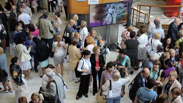 Открытие конгресса Международной ассоциации преподавателей русского языка и литературы в Гранаде, Испания