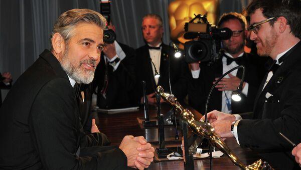 Американский актер Джордж Клуни. Архив