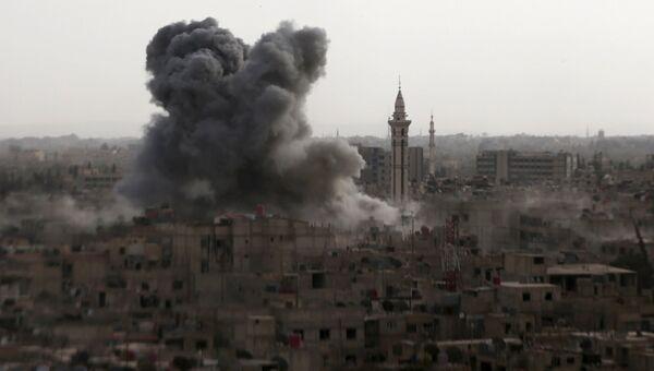 Ситуация в Дамаске, Сирия. 16 сентября 2015