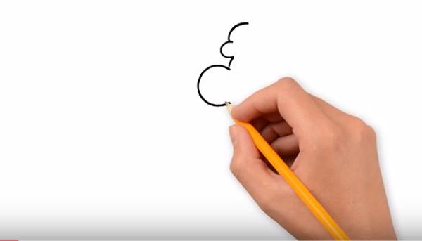 Рисуем Микки Мауса: пошаговая инструкция