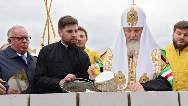 Визит Патриарха Кирилла в Республику Алтай