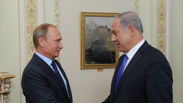 Встреча президента РФ В.Путина с премьер-министром Израиля Б.Нетаньяху. 21 сентября 2015.