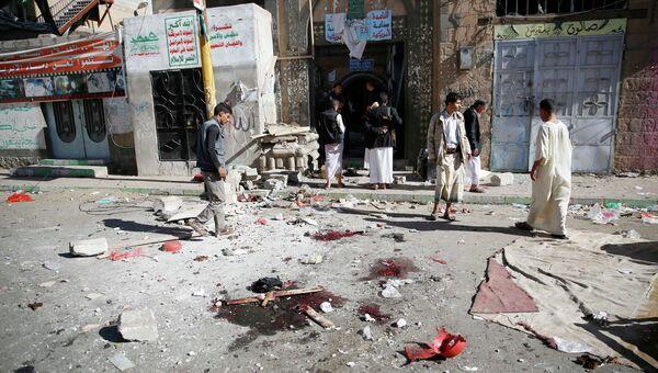Теракт в мечети столицы Йемена Сане