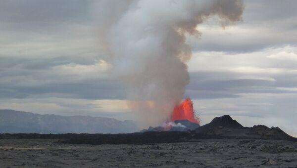 Извержение вулкана Бардабунга в 2014 году