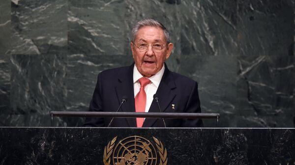 Выступление Рауля Кастро на саммите по устойчивому развитию в ООН