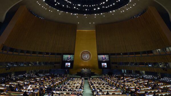 Выступление главы МИД РФ Сергея Лаврова в ООН