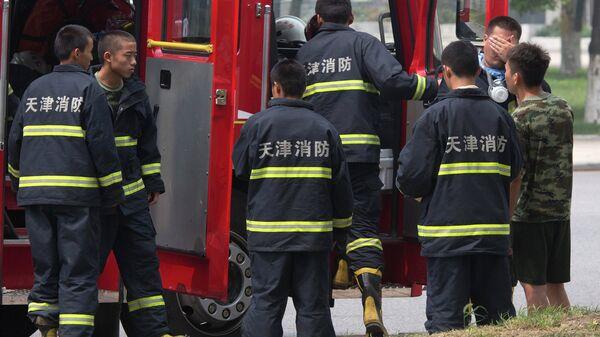 Китайские пожарные