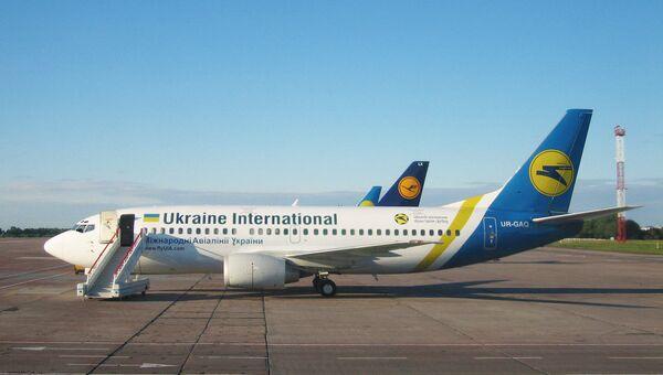 Самолеты Международных авиалиний Украины. Архивное фото