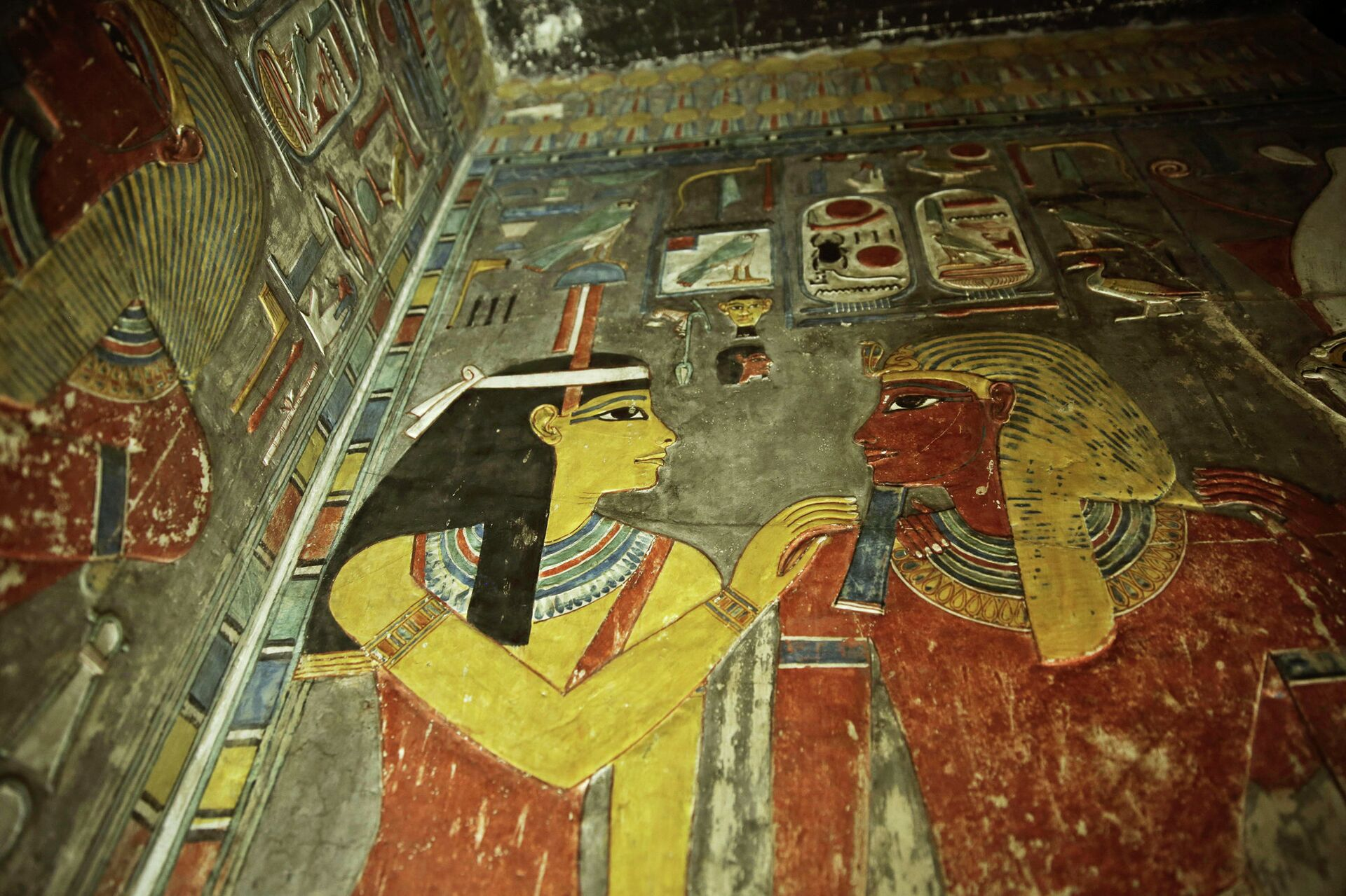 Гробница Тутанхамона в Египте - РИА Новости, 1920, 19.10.2020
