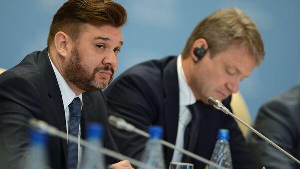 Председатель правления Национального союза производителей молока (Союзмолоко) Андрей Даниленко. Архивное фото