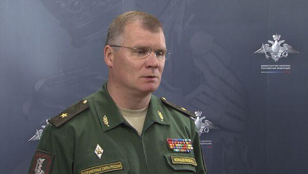 Представитель Минобороны РФ рассказал об авиаударах по позициям ИГ в Сирии