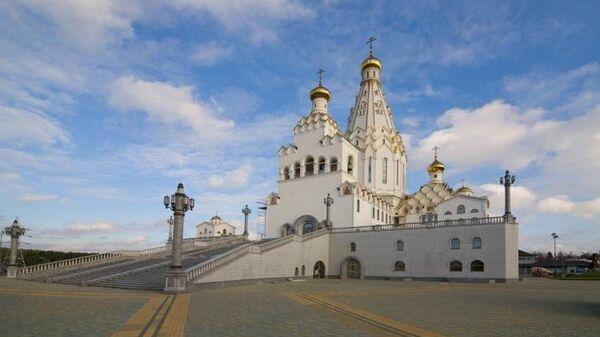 Всесвятский храм в Минске